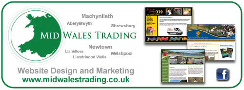 Website Designers Mid Wales Trading